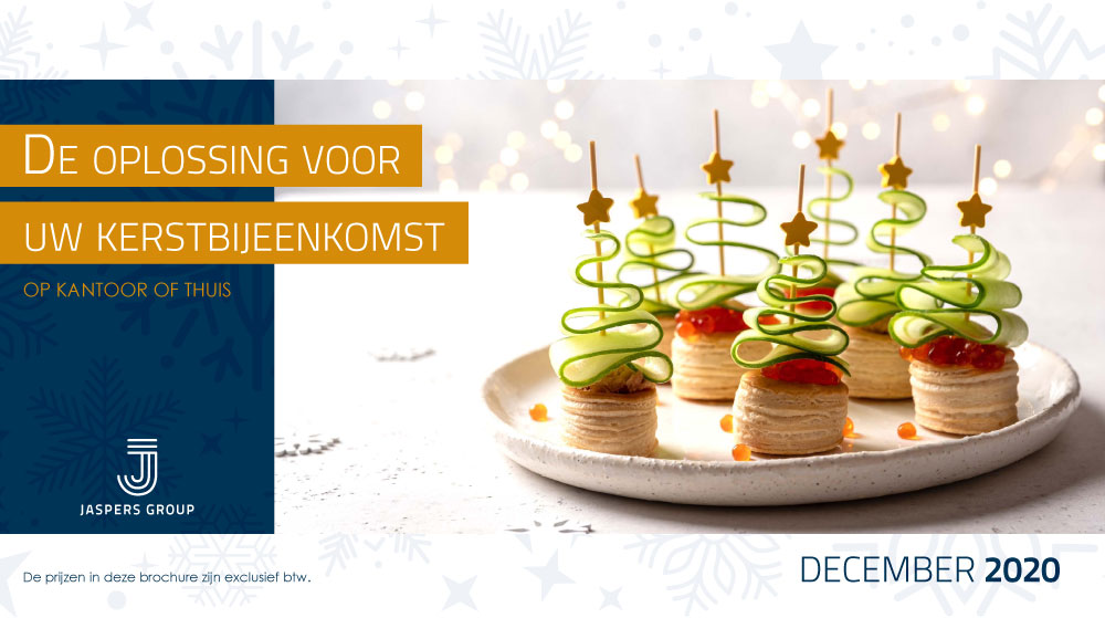 Jaspers Catering Company Kerst 2020